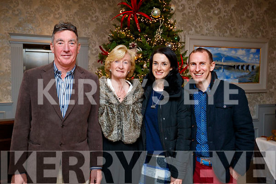 Mike and Martina McDonnell with Laura and David Enright, Tralee, enjoying the Thanksgiving Dinner at The Rose Hotel, Tralee, on Thursday, November 23rd last.
