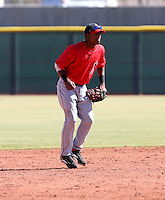 Hainley Statia / Los Angeles Angels 2008 Instructional League..Photo by:  Bill Mitchell/Four Seam Images