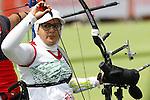 Zahra Nemati (IRI),<br /> SEPTEMBER 10, 2016 - Archery : <br /> Women's Individual Recurve Open<br /> at Sambodromo<br /> during the Rio 2016 Paralympic Games in Rio de Janeiro, Brazil.<br /> (Photo by Shingo Ito/AFLO)
