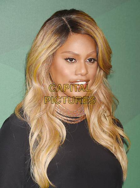 BEVERLY HILLS, CA - OCTOBER 14: Actress Laverne Cox arrives at the Variety's Power Of Women Luncheon 2016 at the Beverly Wilshire Four Seasons Hotel on October 14, 2016 in Beverly Hills, California.<br /> CAP/ROT/TM<br /> &copy;TM/ROT/Capital Pictures