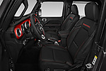Front seat view of 2019 JEEP Wrangler Rubicon 5 Door SUV Front Seat  car photos