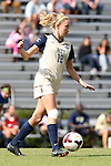 27 October 2013: Pittsburgh's Alyssa Meier. The Duke University Blue Devils hosted the Pittsburgh University Panthers at Koskinen Stadium in Durham, NC in a 2013 NCAA Division I Women's Soccer match. Duke won the game 6-3.