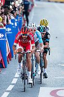Chetout, Kennaaugh, Jauregui and Bouwman during La Vuelta a España 2016 in Madrid. September 11, Spain. 2016. (ALTERPHOTOS/BorjaB.Hojas) NORTEPHOTO.COM