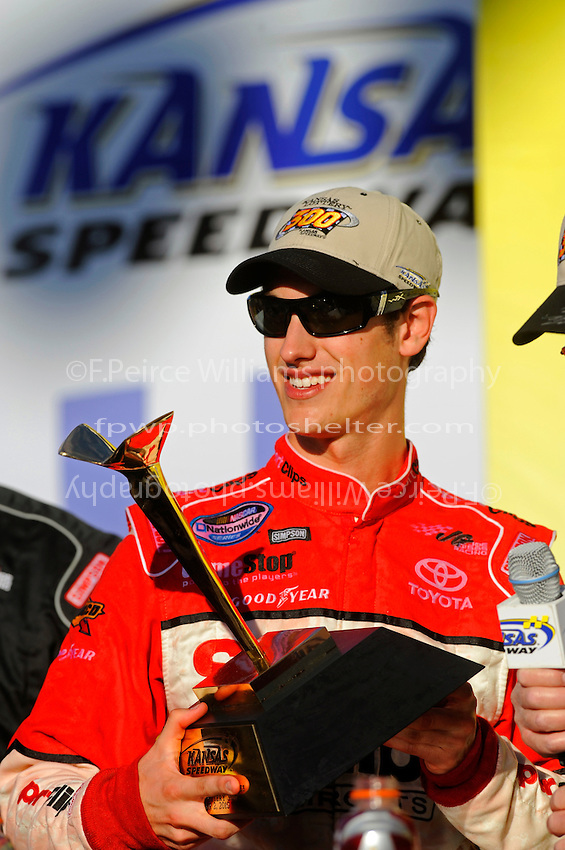 Nationwide winner Joey Logano (#20).