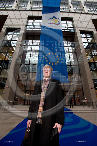 BRUSSELS - BELGIUM - 18 JANUARY 2008 -- Carl-Johan LINDÉN, Counsellor for Special Committee on Agriculture (SCA) and Common Agriculture Policy (CAP), Permanent Representation of Sweden to the EU. Here seen in the building of the EU Council.  Photo: Erik Luntang/EUP-IMAGES/