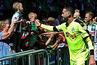 GRONINGEN - Voetbal, Open dag FC Groningen ,  seizoen 2017-2018, 06-08-2017,  FC Groningen doelman Kevin Begois