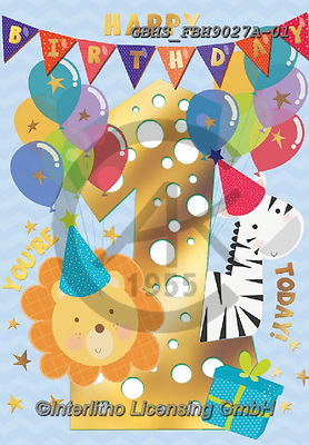 John, CHILDREN BOOKS, BIRTHDAY, GEBURTSTAG, CUMPLEAÑOS, paintings+++++,GBHSFBH9027A-01,#BI#, EVERYDAY ,age cards