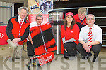 Sam Kingston, Donagh Crowley. Eyelyn Kingston, donal O'Sullivan and Sean Crowley at the Lely Dairy machinery display in Kilcummin on Wednesday