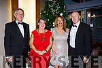 Tim Fenn, Bernadette Randles President of Hotel Federation, and Seamus Moynihan at the IHF ball in the Aghadoe Hotel on Friday night