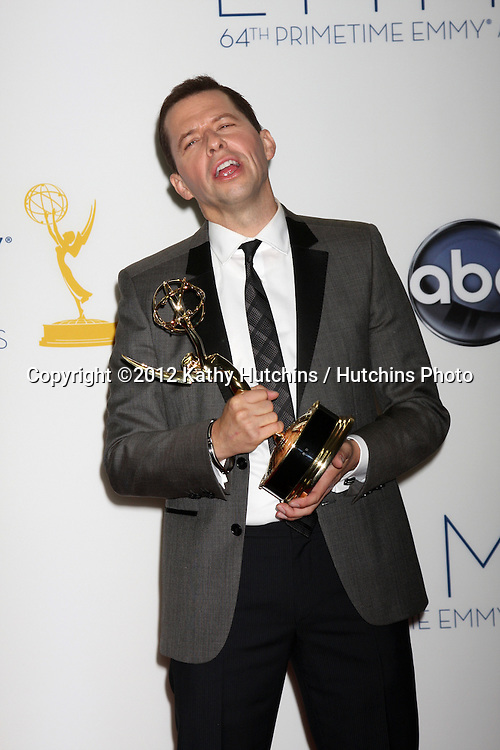 LOS ANGELES - SEP 23:  Jon Cryer in the press room of the 2012 Emmy Awards at Nokia Theater on September 23, 2012 in Los Angeles, CA