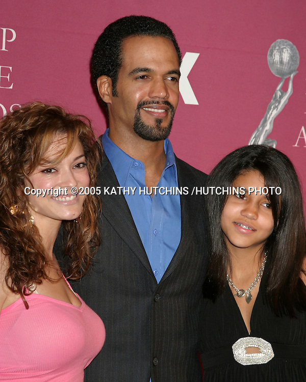 KRISTOFF ST JOHN,.WIFE ALANA, DAUGHTER PARIS.NAACP IMAGE AWARDS NOMINEES LUNCHEON.BEVERLY HILTON HOTEL.BEVERLY HILLS, CA.MARCH 5, 2005.©2005 KATHY HUTCHINS /HUTCHINS PHOTO.......