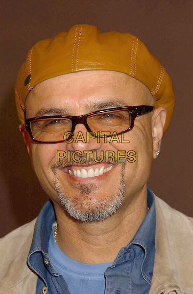 JOE PANTOLIANO.Special Screening of the new documentary Inside Deep Throat held at the Cinerama Dome. Hollywood, California..Photo Credit: Laura Farr/AdMedia.February 3rd, 2005.headshot portrait leather hat tinted glasses shades goatee facial hair.www.capitalpictures.com.sales@capitalpictures.com.© Capital Pictures.
