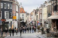 Nederland Nijmegen 2016 02 25. De Lange Hezelstraat .  Foto Berlinda van Dam / Hollandse Hoogte