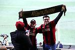 ATLANTA, GEORGIA - DECEMBER 08: Atlanta fans. Atlanta United FC and the Portland Timbers played on December 8, 2018, at Mercedes Benz Stadium in Atlanta, Georgia in MLS Cup 2018. Atlanta United won the championship final 2-0.