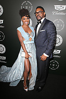SANTA MONICA, CA - JANUARY 6: Shanola Hampton and Daren Dukes at Art of Elysium's 11th Annual HEAVEN Celebration at Barker Hangar in Santa Monica, California on January 6, 2018. <br /> CAP/MPI/FS<br /> &copy;FS/MPI/Capital Pictures