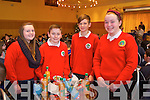 Aoife Murphy, Gearoid Gallagher, Cahal Fitzgibbon and Izabel Lynch from Derryquay  National School at the Tralee Credit Union Primary Schools Quiz, held at Ballyroe Heights Hotel on Sunday