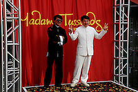 January 11, 2010:  Jackie Chan poses at the Jackie Chan wax figure unveiling at Madame Tussauds Hollywood in Los Angeles, California. Photo by Nina Prommer/Milestone Photo