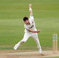 Matt Henry bowls for Kent during the County Championship Division Two game between Kent and Northants at the St Lawrence ground, Canterbury, on Sept 4, 2018.