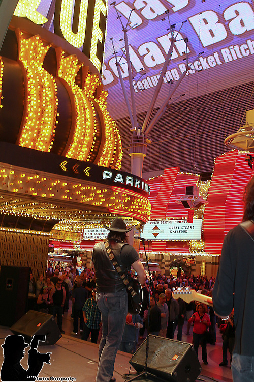 Fremont Street Experience Jay Bolan Band