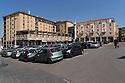 12 aprile 2020, Sassari, piazza Colonna Mariana. Pasqua di Resurrezione.