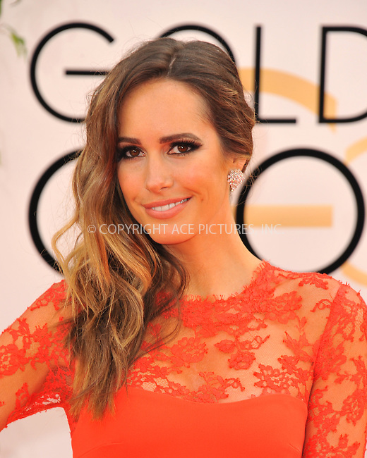 WWW.ACEPIXS.COM<br /> <br /> January 12 2014, LA<br /> <br /> Louise Roe  arriving at the 71st Annual Golden Globe Awards held at The Beverly Hilton Hotel on January 12, 2014 in Beverly Hills, California<br /> <br /> By Line: Peter West/ACE Pictures<br /> <br /> <br /> ACE Pictures, Inc.<br /> tel: 646 769 0430<br /> Email: info@acepixs.com<br /> www.acepixs.com