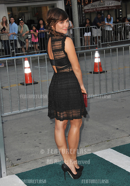 Briana Evigan at the Los Angeles premiere of &quot;Draft Day&quot; at the Regency Village Theatre, Westwood.<br /> April 7, 2014  Los Angeles, CA<br /> Picture: Paul Smith / Featureflash