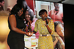 Estelle Receives the WEEN International Empowerment Award at the 3rd Annual WEEN Awards Honoring Estelle, Keri Hilson, Tracy Wilson Mourning, Egypt Sherrod, Danyel Smith and Jennifer Yu Held at Samsung Experience at Time Warner Center, NY  11/10/11
