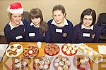 MARKET: Students at Scoil Phobail Sliabh Luachra in Rathmore who held a German Christmas market last Friday, l-r: Bridette Dineen, Ellen Moynihan, Maura Casey, Aoife Lenihan.