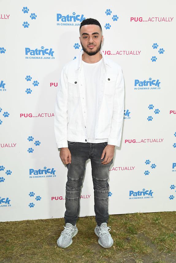 "Ali Barouti<br /> arriving for the ""Patrick"" UK premiere, London<br /> <br /> ©Ash Knotek  D3411  27/06/2018"