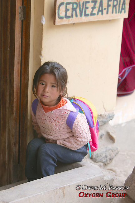 Young School Girl