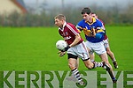 Denis O'Sullivan  Dromid Pearses v  Kildangan in the Munster Junior Football Final at Moyvane on Sunday
