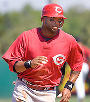 McDonald, Darnell 7456.jpg. Spring Training. Cincinnati Reds at Houston Astros. Spring Training Game. Friday March 20th, 2009 in Kissimmee., Florida. Photo by Andrew Woolley.