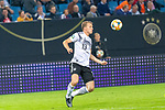 06.09.2019, Volksparkstadion, HAMBURG, GER, EMQ, Deutschland (GER) vs Niederlande (NED)<br /> <br /> DFB REGULATIONS PROHIBIT ANY USE OF PHOTOGRAPHS AS IMAGE SEQUENCES AND/OR QUASI-VIDEO.<br /> <br /> im Bild / picture shows<br /> <br /> Lukas Klostermann (Deutschland / GER #13)<br /> <br /> während EM Qualifikations-Spiel Deutschland gegen Niederlande  in Hamburg am 07.09.2019, <br /> <br /> Foto © nordphoto / Kokenge