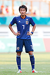 Teruki Hara (JPN), <br /> AUGUST 19, 2018 - Football / Soccer : <br /> Men's Group D match <br /> between Japan 0-1 Vietnam <br /> at Wibawa Mukti Stadium <br /> during the 2018 Jakarta Palembang Asian Games <br /> in Cikarang, Indonesia. <br /> (Photo by Naoki Morita/AFLO SPORT)