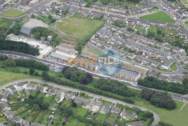 Aerial images of Drogheda Donore Road showing High Field and former roadstone site and parts of Cherrybrook..Photo: Newsfile / Fran Caffrey.