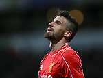 Fabio Borini of Liverpool - FA Cup Fourth Round replay - Bolton Wanderers vs Liverpool - Macron Stadium  - Bolton - England - 4th February 2015 - Picture Simon Bellis/Sportimage