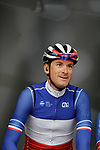 French Champion Anthony Roux (FRA) Groupama-FDJ at the team presentations before Stage 1 of the Criterium du Dauphine 2019, running 142km from Aurillac to Jussac, France. 9th June 2019<br /> Picture: Colin Flockton | Cyclefile<br /> All photos usage must carry mandatory copyright credit (© Cyclefile | Colin Flockton)