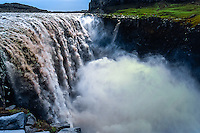 Iceland. Dettifoss is a pwerful waterfall in Vatnajökull National Park on the Jökulsá á Fjöllum river.