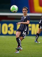 Sarah Huffman. The Washington Freedom defeated the Saint Louis Athletica, 3-1.