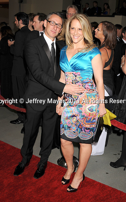 HOLLYWOOD, CA - January 29: Adam Shankman and Anne Fletcher - Directors arrive at the 63rd Annual DGA Awards held at the Grand Ballroom at Hollywood & Highland Center on January 29, 2011 in Hollywood, California.