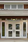 Oct. 23, 2012; University Village Community Center door..Photo by Matt Cashore/University of Notre Dame