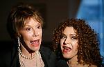 Mary Tyler Moore & Bernadette Peters<br />attending the book Party for the debut release of Bernadette Peter's BROADWAY BARKS at Le Cirque Restaurant in New York City.<br />May 12, 2008