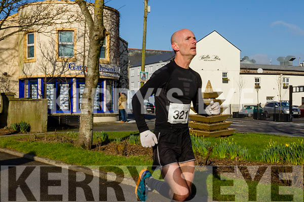 Billy O'Brien, pictured at the Kerry's Eye Valentines Weekend 10 mile road race on Sunday.