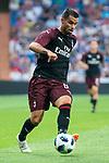 A.C. Milan Suso during Santiago Bernabeu Trophy match at Santiago Bernabeu Stadium in Madrid, Spain. August 11, 2018. (ALTERPHOTOS/Borja B.Hojas)