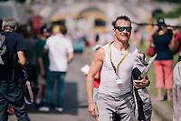 Thomas Voeckler at the start<br /> <br /> Stage 19: Lourdes &gt; Laruns (200km)<br /> <br /> 105th Tour de France 2018<br /> &copy;kramon