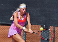 Netherlands, Rotterdam August 05, 2015, Tennis,  National Junior Championships, NJK, TV Victoria, Eva Vedder<br /> Photo: Tennisimages/Henk Koster