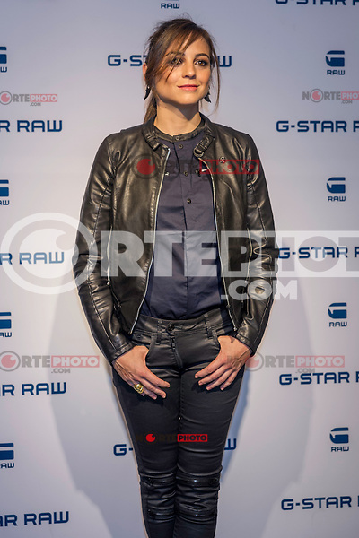 Spanish actress and singer Leonor Waitling poses for the photographers as the new image of the famous clothing company.<br />  2015 at the G-Star Raw Boutique in Madrid, Spain. january 29, 2015. (ALTERPHOTOS/Sirocco) /nortephoto.com<br /> nortephoto.com