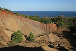 Zone d erosion naturelle, padzas vers les plages de Sazile