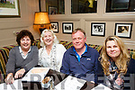 Organising Committee of the Kerry School of Music Quiz held in the Brogue Inn on Friday night last, Eileen O'Connell, Myra Blackwood, Danny O'Leary and Marketa Valisova