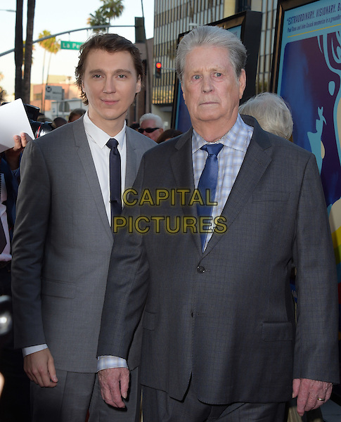 Paul Dano and Brian Wilson attends The Lionsgate L.A. Premiere of Love &amp; Mercy held at AMPAS  in Beverly Hills, California on June 02,2015                                                                               <br /> CAP/RKE/DVS<br /> &copy;DVS/RockinExposures/Capital Pictures